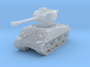 M4A3E8 Sherman 76mm 1/220 3d printed