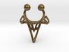 Tribal Arrowhead Nose Ring 3d printed