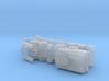 MAZ 543 / CHmZAP 5247 Tank Transporter 1/200 3d printed