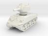 M4A3 Sherman 105mm 1/120 3d printed