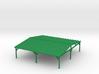 Big Picnic Shelter - HO 87:1 3d printed