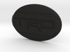 Toyota steering wheel emblem overlay TRD 3d printed