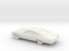 1/80 1967 Chevrolet Impala Coupe 3d printed