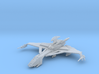 Klingon Hegh' ta Bird of Prey (Flight) [Large] 3d printed