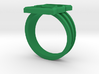 Custom Green Lantern Ring Size 11.25 3d printed