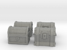 Chests Set of 4 miniatures fantasy games DnD rpg 3d printed