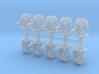 Saturnine Terminators Heavy Weapons 6mm miniatures 3d printed