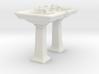 Toilet Sink Ver03. 1:24 Scale 3d printed