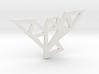 Abstract Bird Pendant 3d printed