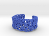 Flowers Cuff (Size M) 3d printed
