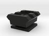 Flash Hot Shoe Picatinny Rail (2 Slots) 3d printed