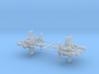 8,8cm Flak 41 firing position 1/200 3d printed
