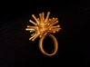 Urchin Ring 3d printed