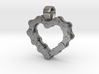 Bike Chain Heart Pendant 3d printed 3D model