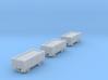 T-gauge 3 trucks - Custom Wheels, see description 3d printed