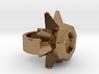 Daffodil Ring raw metal 3d printed