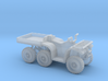 1:72 ATV 6-wheeler 3d printed