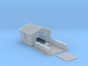 HO-Scale Backyard Shed (Revised) 3d printed Revised Model