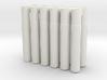 Expandable Barrel Lap: 8-32 Threading (12 Pack) 3d printed