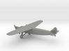 Fokker F.XVIII 3d printed