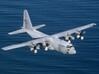 Nameplate C-130H Hercules 3d printed