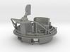 1/20 USN Pt Boat 109 - 0.50 Gun Mount Aft 3d printed