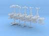 MicroFleet Space Mongol Carrier Group (21pcs) 3d printed