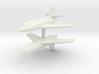 1/285 Bell X-2 (x2) 3d printed