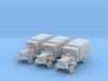 1/200 WW1 light trucks (3) 3d printed