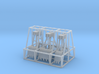Set Of 3 Clamshell Buckets  3d printed