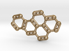Benzo[a]pyrene Molecule Necklace Keychain 3d printed