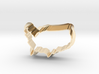Cookie Cutter USA - Country America  3d printed