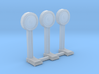 N-Scale 1920's Penny Scale - 3 Pack 3d printed