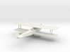O Scale Biplane 3d printed This is a render not a picture