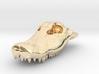 Alligator Skull Pendant - 3DKitbash.com 3d printed