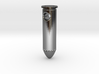 Silver Bullet Pendant 3d printed