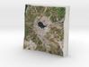 Uncompahgre Peak, Colorado, USA, 1:50000 3d printed