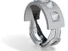 Choker Ring - Sz. 7 3d printed