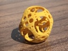 Apollonian Octahedron Mini 3d printed Yellow Strong & Flexible Polished