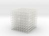Mesh Cube 81mm 3d printed