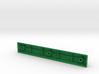 Blank Spacebar Keycap (6.25x) 3d printed