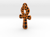 Ankh Coloured - Black Yellow 3d printed