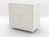 Miniature cabinet 3d printed