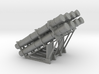 Harpoon missile launcher 4 pod x 2 1/50 3d printed