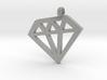 Diamond necklace charm 3d printed