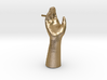 High Five Lapel Pin 3d printed