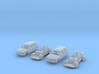 SET 2x Volkswagen Golf 5-Türer (N 1:160) 3d printed