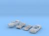 SET 2x Amphicar 770 (N 1:160) 3d printed