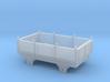 Broad Gauge Iron Box Truck (N Scale) 3d printed