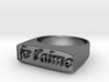 "RING   "" Je t'aime ""   U.S Size  9 3d printed"